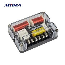 AIYIMA tonów wysokich SubWoofer 2 Way Crossover zwrotnica częstotliwości do głośnika filtr samochodu Crossover Aduio pokładzie DIY dla nagłośnienie