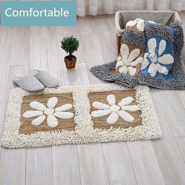 Chenille Bad Teppich, Eingangstür Matten Badematte, Dekoration Willkommen  Fußmatte Wohnzimmer Bodenmatte, Küche Teppiche Ideas