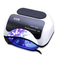 48W Nail Dryer Polish Machine CCFL UV Lamp LED Nail Lamp For Gel Nail Polish Art Automatic Hand Sensor Nail Art Tools