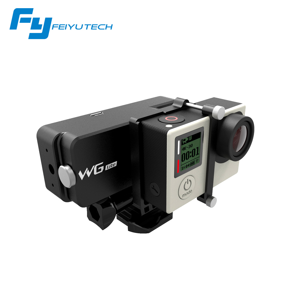 Original Feiyu tech  FY-WG Lite wg series mental single axis wearable gimbal In stock feiyu tech fy wg lite single axis wearable camera gimbal