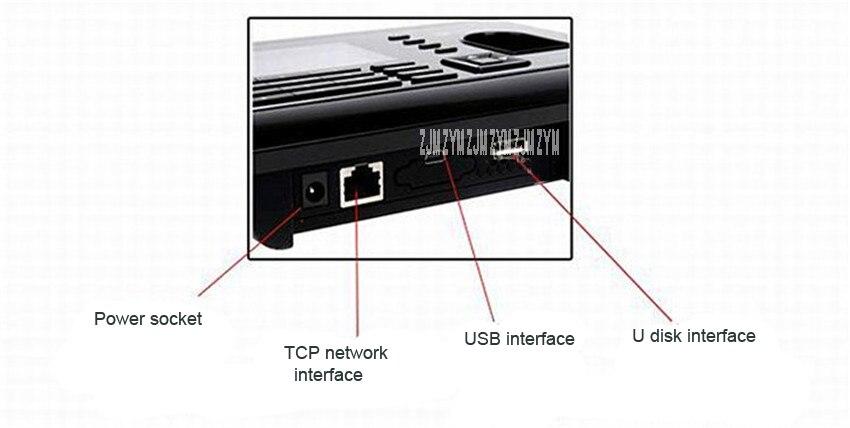 A-C061 2.8 polegada tft biométrico de impressão