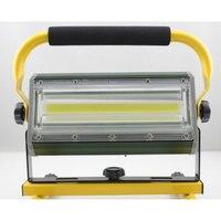 High Power 100w Led Spotlights Projection Lamp work Light Searchlights Flashing Warning Waterproof Flood lantern camping light