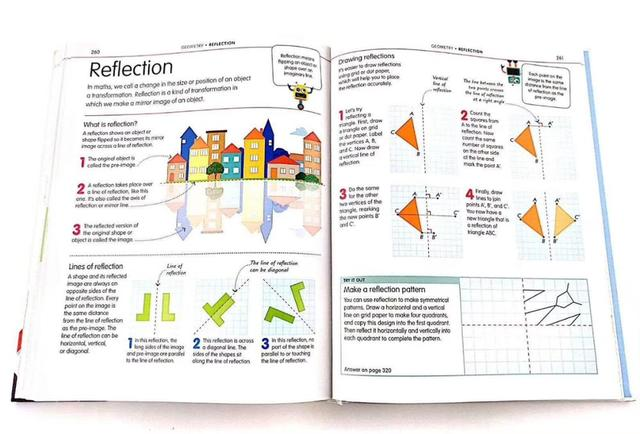 How to be Good at Maths The Simplest-ever Visual Guide Book 4