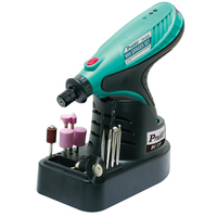 Free Shipping ProsKit PT 5721F Multi Function Cordless Mini Electric Drill Grinder Kit Grinding Tools Set