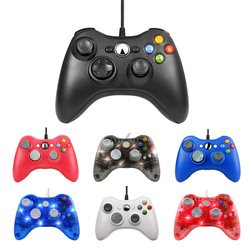 Dla konsoli Xbox 360 USB przewodowy Gamepad na PC dla Windows 7 / 8 / 10 Joystick Controle Mando