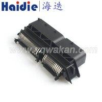 Envío libre 1 Unidades AMP PCB 154pin ECU conector electrónico, auto conector PCB Tyco 154 pin plug conector modificado 284617-1