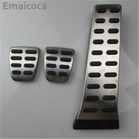 Car Styling Stainless Steel Brake Accelerator Pedal Pad Cover Case For Hyundai Ix35 Sonata 8 Mistra