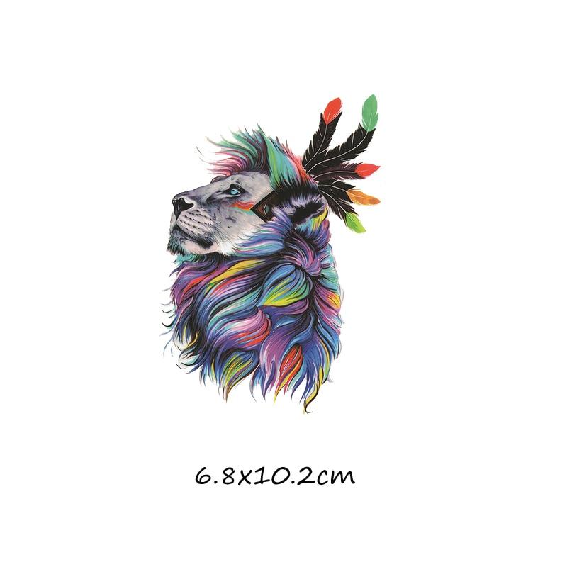 Милый мультфильм животных Комбинации гладить на патч ручной работы термоприклеивание, наклейки для Костюмы значки аппликаций для украшения из ткани - Цвет: J-61-18