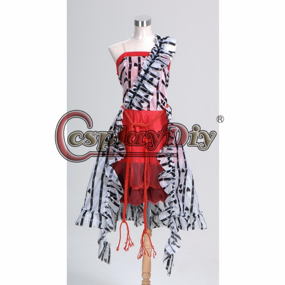 Aliexpress buy cosplayidiy alice in wonderland alice red court aliexpress buy cosplayidiy alice in wonderland alice red court um dress adult women halloween carnival cosplay costume custom made j5 from reliable arubaitofo Choice Image