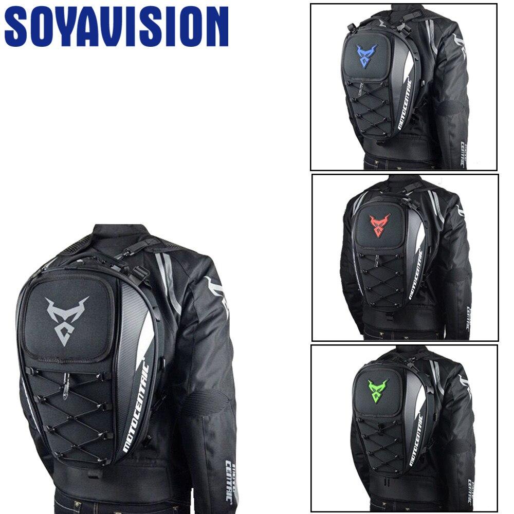 Black Men's Motorcycle Bag Waterproof Motorcycle Backpack Travel Luggage Bag Motorbike Bags Tank Bag For Harley For BMW