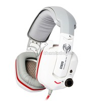 Somic7.1 Surround Sound USB Games Gaming Headset Hoofdtelefoon 4 Razer Gamer-Wit