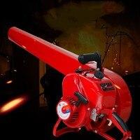 Max 4KW бензиновый снегоочиститель снег Remover ветер Огнетушитель дымоход дорожный воздуходувы сварки шлака воздуходувы