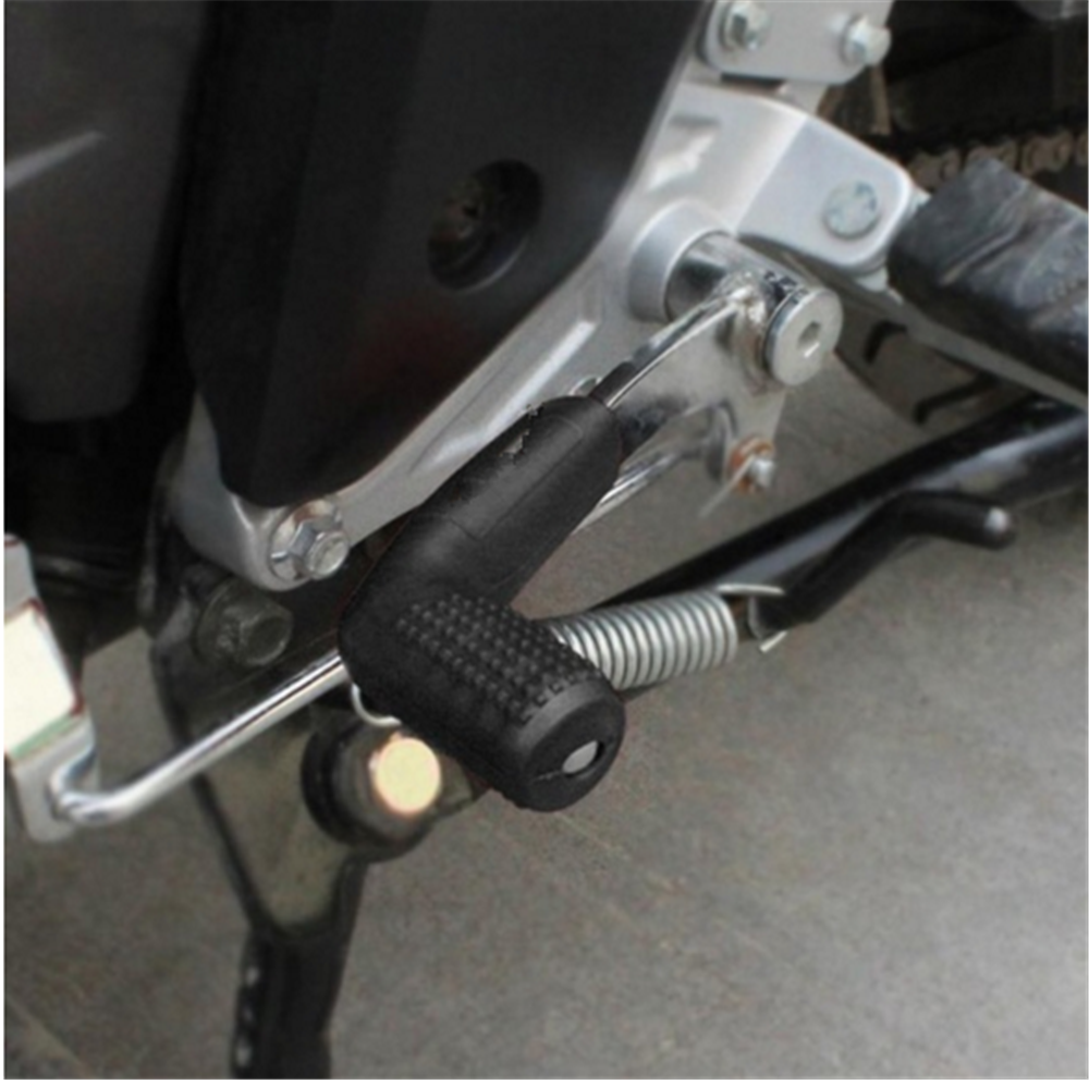 Motor Gaya Gantung Penutup Gigi Pergeseran Tuas Lengan Karet Perlindungan untuk Kawasaki Ninja 300 250R ZX636R ZX6RR 400R