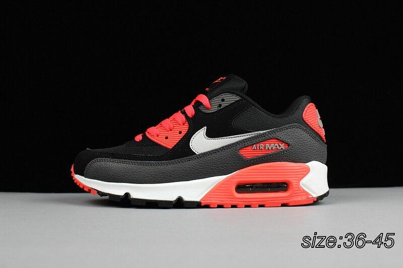 Officiel D'origine NIKE AIR MAX 90 de Femmes Respirant chaussures de course Sneakers Limitée Classique En Plein AIR Loisirs Sports AirMax 90