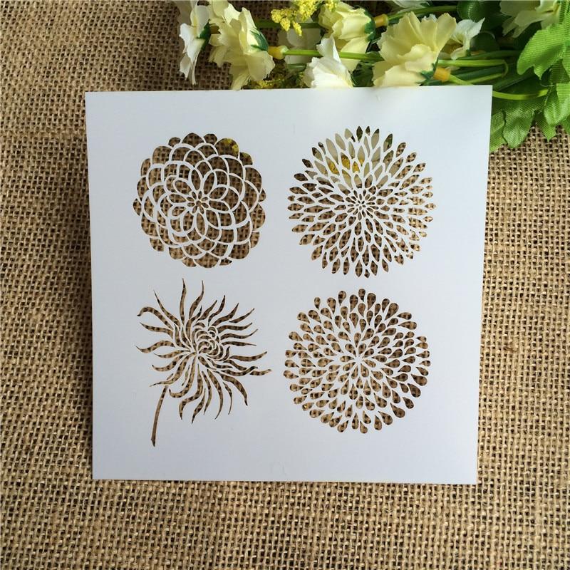 1 Sheet Layering Stencils For DIY Scrapbooking/photo Album Decorative Embossing DIY Paper Cards Crafts