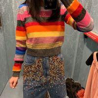 S01662 женские модные свитеры для женщин 2019 взлетно посадочной полосы Элитный бренд Европейский дизайн вечерние Стиль Женская одежда