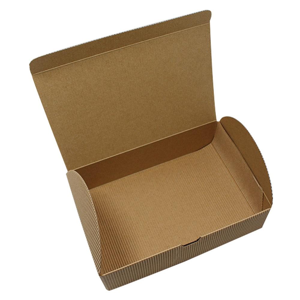 20Pcs 18*12*5cm DIY Corrugated Kraft Paper Cake Box Moon Cake Paper Cardboard Boxes Gift Cookie Storage For Wedding Christmas