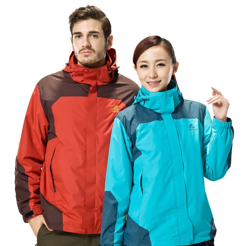 все цены на  NIUMO New In the winter Couples Hiking Jackets Outdoor clothing Fleece two-piece Wind proof Mountaineering wear  онлайн