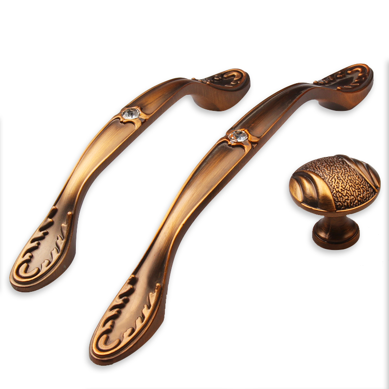 Zinc Alloy European Style Retro Drawer Handle Modern Cabinet Drawer Cupboard Door Handle Furniture Hardware Handle стоимость