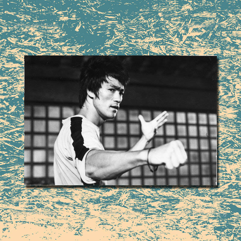 Bruce Lee ,  Movie Star – Print Poster