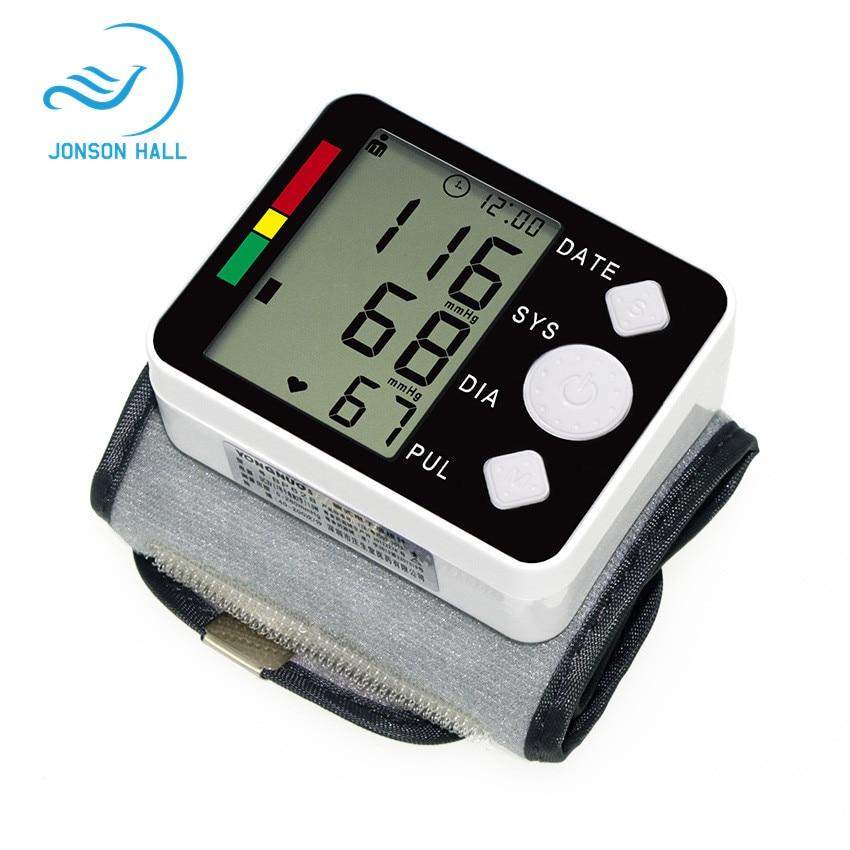 tonometer on the wrist blood pressure meter Monitor Digital Tonometer & Pulse Meter Health Care Sphygmomanometer diagnostic-tool
