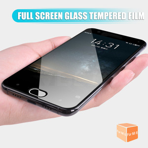 Image 3 - Protective Glass On For Xiaomi Mi 6 6X Mi 5 5S 5C 5X 5S Plus Tempered Screen Protector For Xiaomi Mi A1 Note 3 Full Cover Glass