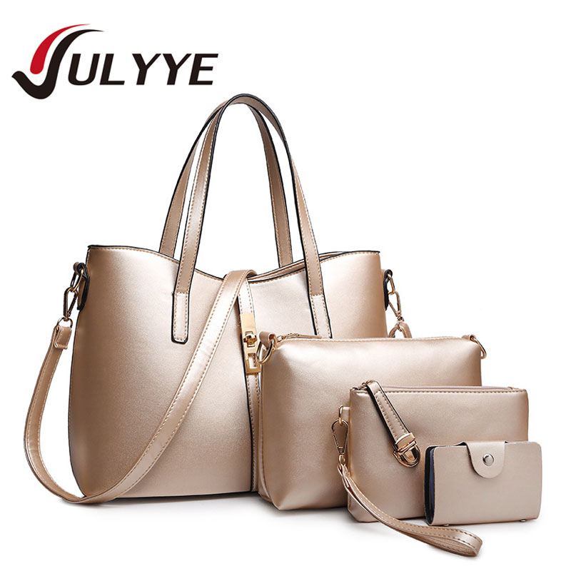 Women Bag Set New Ladies Luxury PU Leather Crossbody Composite Bag Band Fashion Shoulder Handbags Large Women's Package Bags floral pattern women handbags lash package shoulder bags three piece suit composite large tote bag for ladies