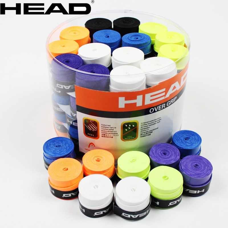10 Pcs Head Tennis Overgrip Grip Tennis Racket Badminton Sweatband Overgrip Tennis Trainer Shock Absorber Tennis Racquet Grip