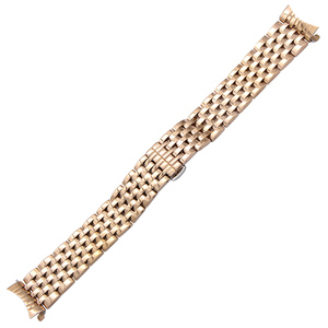Image 3 - Curved End Stainless Steel Watch Band for Seiko 5 SKX007 Premier Superior Presage Wrist Strap Silver Rose Gold 18mm 20mm 22mm