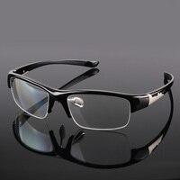 Men Sport Optical Myopia Prescription Glasses Cycling Flat Mirror Nearsighted Bike Bicycle Women Eyewear TR90 Frame