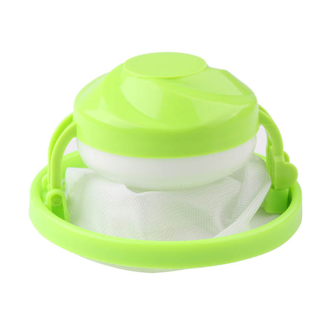 1 Pc Useful Home Washing Machine Hair Catcher Dirty Filter Screen Mesh Bag Random Colors Washing Ball Easy Clean