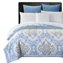 Clásico de verano acolchado Edredón 150*200 cm 200*230 cm tamaño ropa de cama fina Manta Lanza Mantas