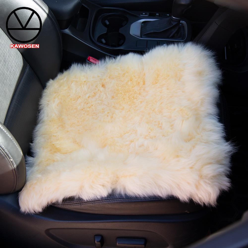 Wool-Seat-Cover Car-Cushion Universal Winter Australian Pure 1 for Russian 7-Colors 1pcs/Lot