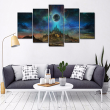 Alien scenery 5pcs 5d diy diamond painting mosaic art,full square Diamond embroidery,Diamond puzzles Y2944