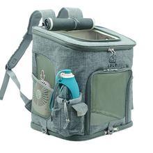 Дропшиппинг кошка переноска Экстра большой емкости рюкзак для питомца, собаки воздухопроницаемая переноска для питомцев для путешествий портативный сумка на плечо
