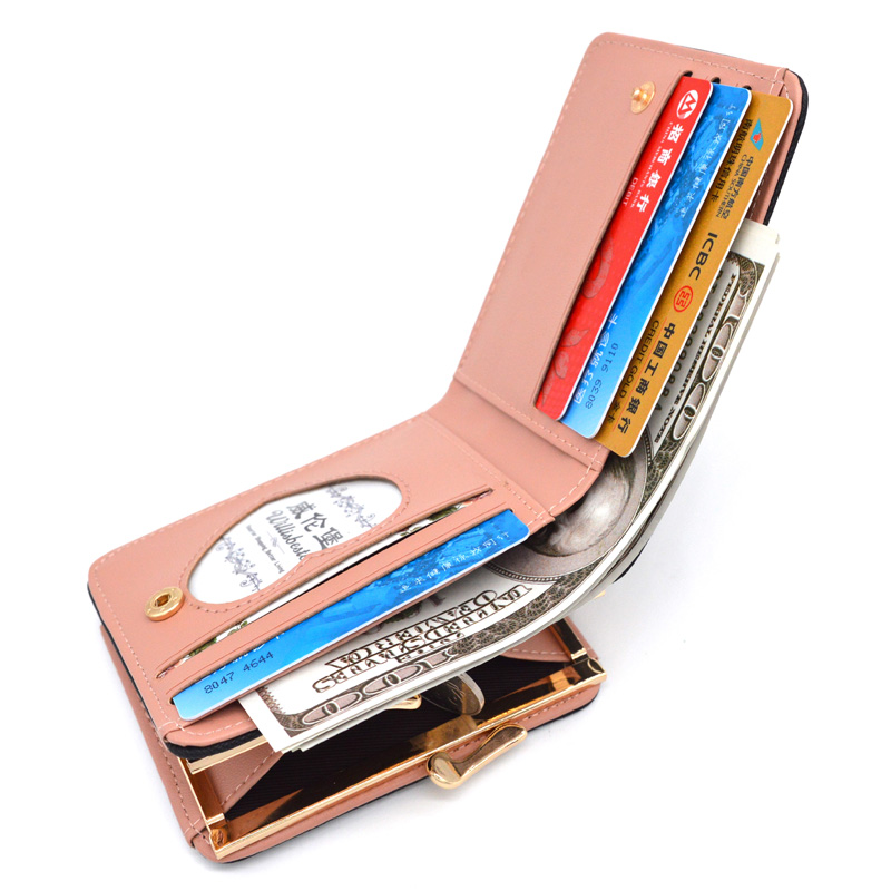 New Woman Wallet Small Hasp Coin Purse For Luxury Brand Lady Purses Female Wallets Women Mini Leather Clutch Card Holder #4