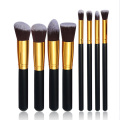 Professional 8pcs Makeup Brushes Tools set for Artist Makeup Painting Cosmetic Foundation Eyeshadow Eyeliner Lip Powder brush