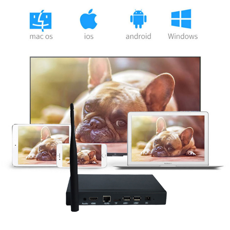 WiFi Android Display Box Wireless Screen Transmission Meeting Monitor Miracast DLNA All share For PC Laptop IOS Android электроника fastdisk miracast dlna widi dongle wifi ios android tablet pc hdmi