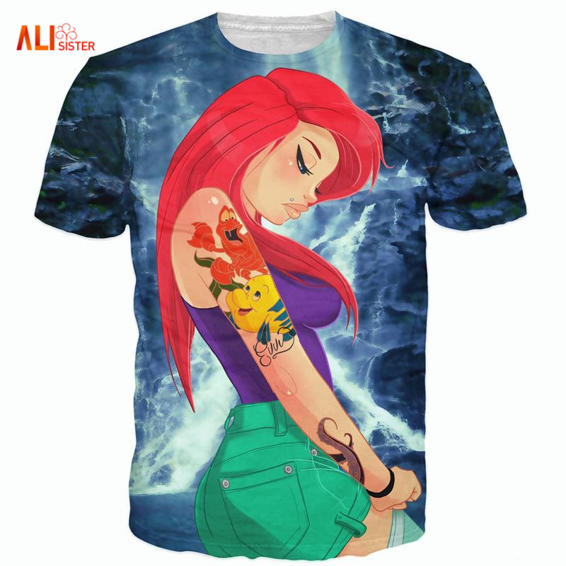 Alisister 3d Alice T-Shirt Sick Sexy Naughty Vibrant Tee Casual O-neck Tops Fashion Clothing T Shirt For Women Men Plus Size 4XL