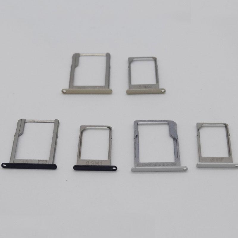 1 pair original For Galaxy A3 A300 A300F A3000 A5 A5000 A7 A7000 SIM Card Holder Tray + SD Memory Card Tray Slot