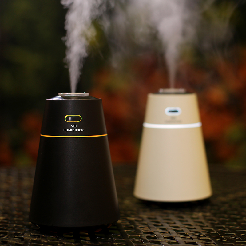 цена на BOMEINENG Portable Car Humidifier Usb Essential Oil Aroma Diffuser Ultrasonic Air Humidifiers with LED Light for Home Office
