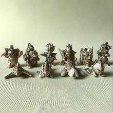 Pcv rysunek ozdoby dla lalek Alttmannnink malarstwo wisiorek Monster p w wersji 10 sztuk zestaw tanie tanio Model Unisex Animals Dinozaury Puppets Wyroby gotowe 8 cm 6 lat Remastered version