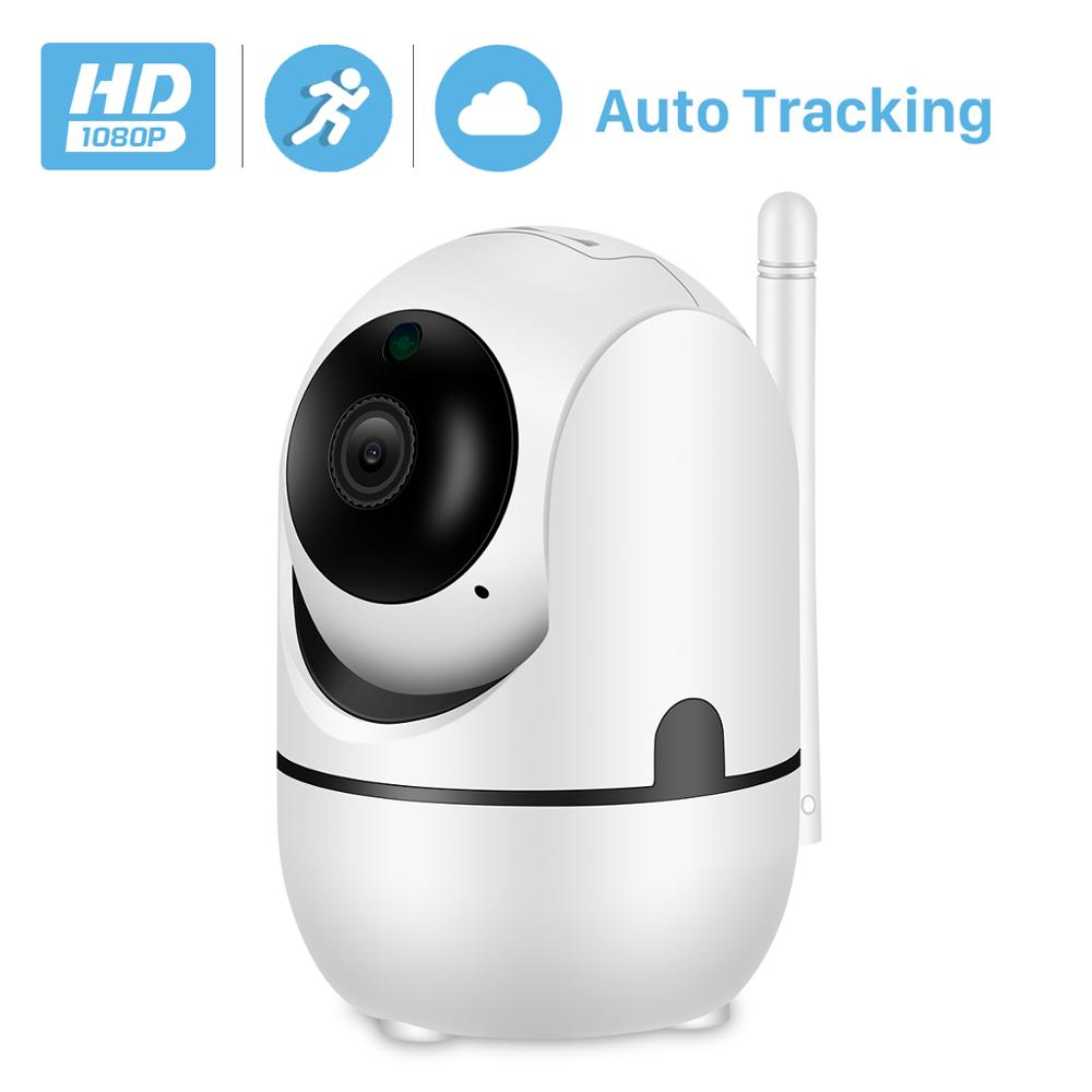 BESDER 1080P Auto Tracking PTZ AI IP Camera WiFi Cloud Storage CCTV Home Surveillance IP Camera WiFi Two Way Audio Motion Alarm