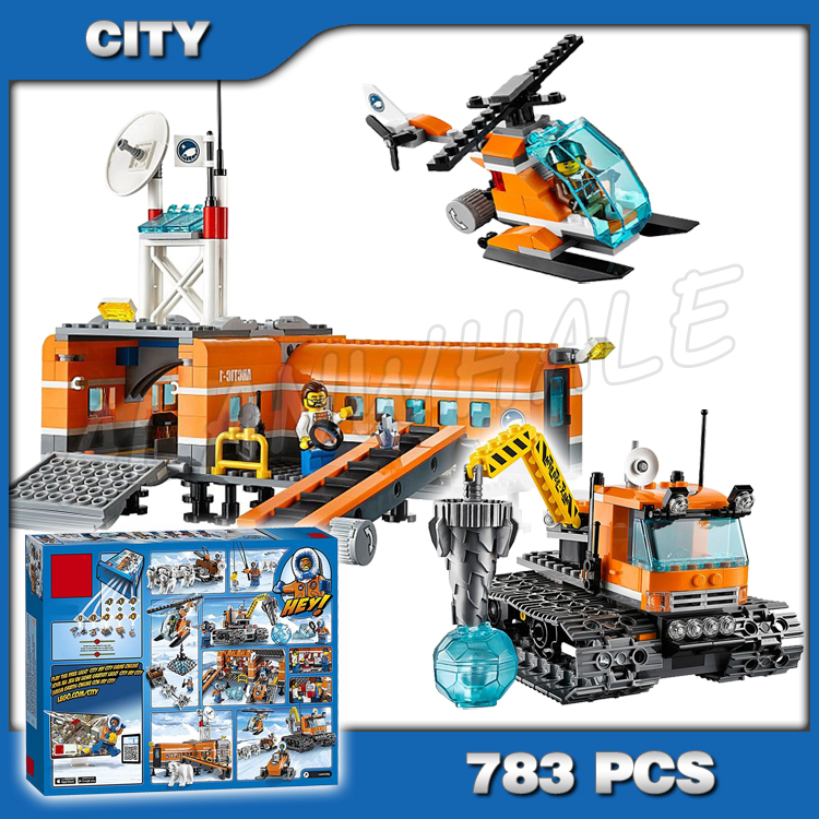 10442 City Arctic Base 60036 Blocks legoinglys Toys For Children gifts