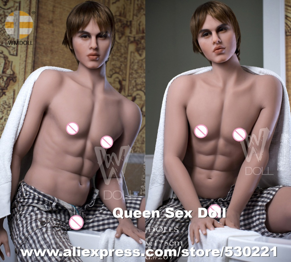 NEW WMDOLL <font><b>175cm</b></font> Top quality Male <font><b>Sex</b></font> <font><b>Doll</b></font> For Women Full Size Gay Silicone Male <font><b>Dolls</b></font> With Penis Oral Anal Sexy Masturbator image