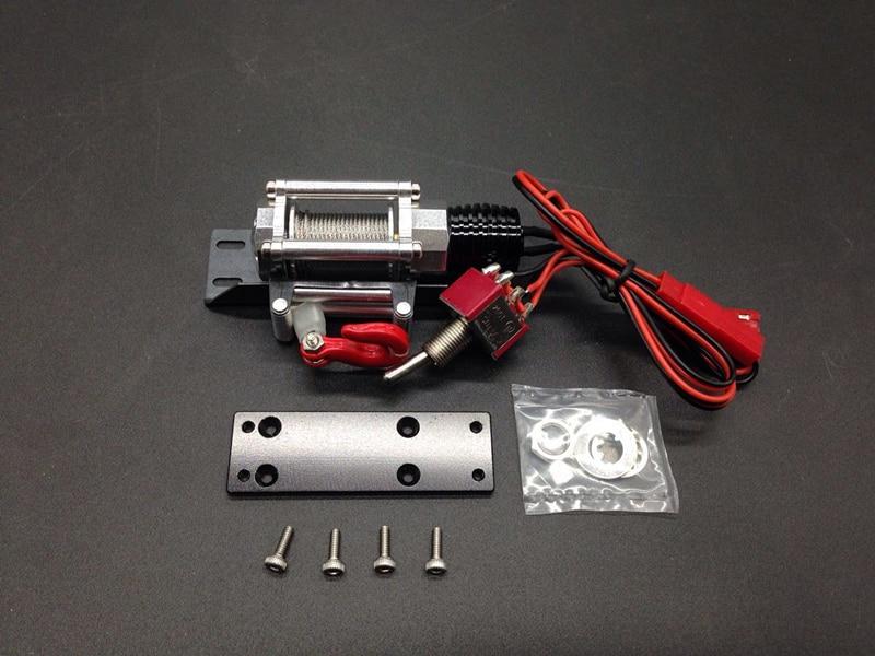 1:10 TFL Electric CNC Winch SCX 10 90027 90035 ( Model Capstan ) for RC CARS HOBBY TOY tfl c1616 01 emulation winch a aluminium alloy rc car parts