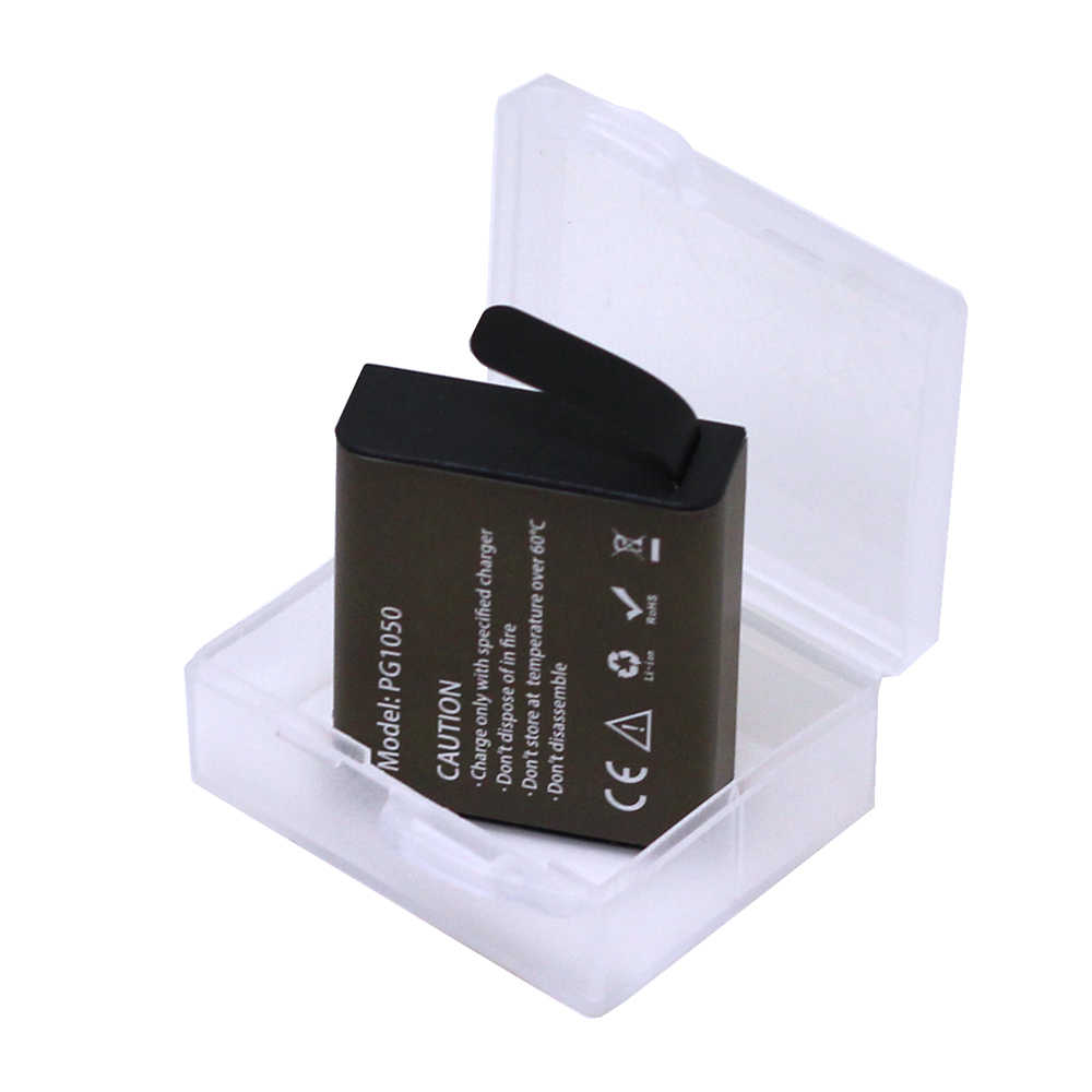3,7 V 1050 мАч действие Камера Батарея для eken H9 H9R H3 H3R H8PRO H8R H8 SJ4000 SJCAM SJ5000 SJ5000X PG1050 Перезаряжаемые батареи