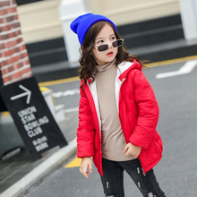 2018 New Children Winter Jackets Ultra Light Down Cotton Coats Boy Girl Autumn  Hooded Coat Parka Outerwear Kids Winter Jacket