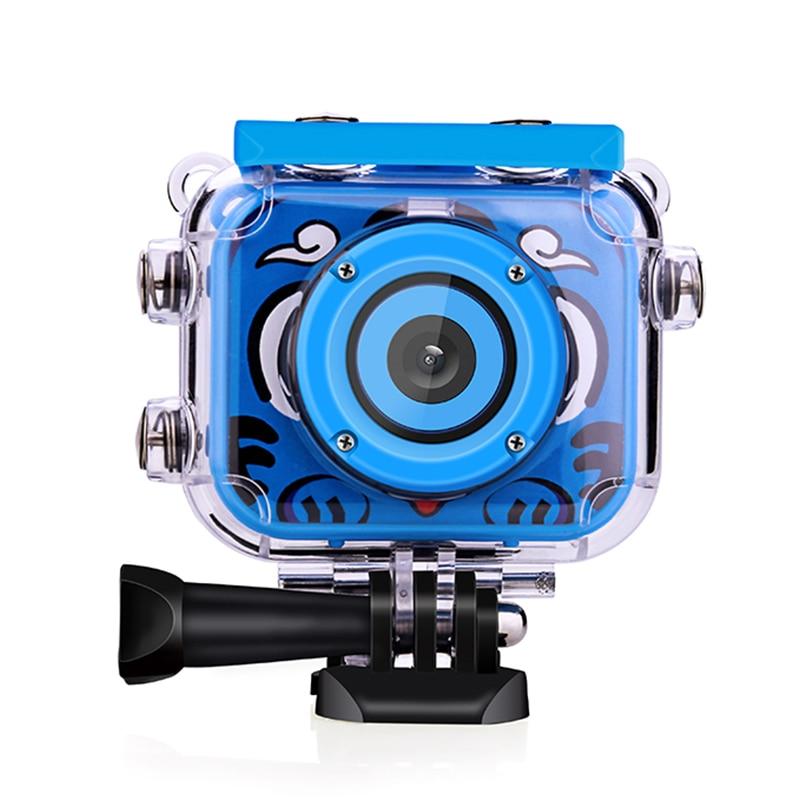 Mini Kids Cam 2.0'' 1080P HD Sports Video Camera Camcorder 12MP Sport Action Camera Waterproof Outdoor Sports DV Bike Helmet Cam