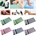 Massager cushion Acupressure Mat Relieve Stress Pain Acupuncture Spike Yoga Mat with Pillow Drop #88359